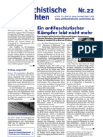 antifaschistische nachrichten 2006 #22