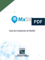 Guia de Instalacion de Mxsig