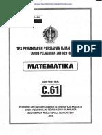 Tpm Provinsi Diy 14-15 Maret 2016 Matematika c.61