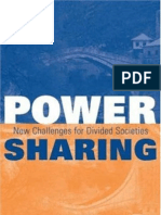 Horowitz - Power Sharing in Divided Societies