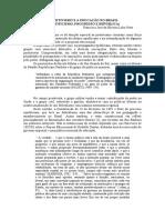 O POSITIVISMO E A EDUCAÇÃO NO BRA SIL (CIENTIFICISMO, PROGRESSO E REPÚBLICA) - Francisco José da Silveira Lobo Neto