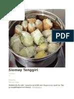 Siomay Tenggiri