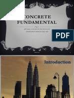 Concrete Fundamental