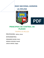 Informe de Evaluacion y control de Plagas de  Algodon