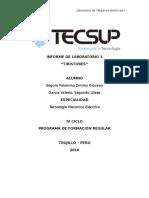 Informe de Laboratorio 1 Electronica