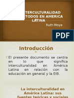 La Interculturalidad en America Latina