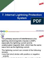 7. Internal Lightning Prot Sys
