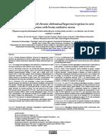 Ovariectomy-induced chronic abdominal hypernociception in rats