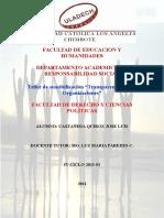 Facultad de Educacion y Humanidades