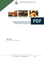 Guatemala Informe Semanal de Precios Del 04 Al 10 de Septiembre 2015