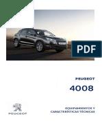 Ficha técnica Peugeot 4008