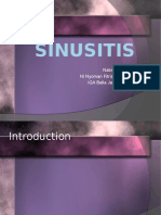 Treatment and Management of Sinus Infection
