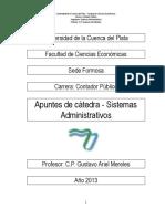 Apuntes de Catedra Sistemas Administrativos 2013 (1)