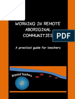 working in remote aboriginal communities - a practical guide for teachers