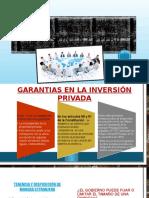 Garantias Para La Inversión en El Perú-- Ppt-roy