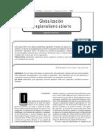 """Gutiérrez, Alejandro (2000). """"Globalización y regionalismo abierto"""", en"""
