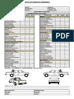 242513397 Check List Camioneta PDF
