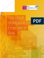 The Great Workplace Era Emerges in Asia