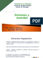 Unidad Lll_Estructura y Autoridad
