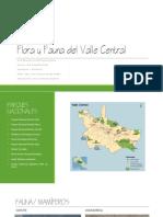 Flora y Fauna Del Valle Central
