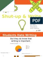 shut-up write