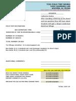 field trip approval form