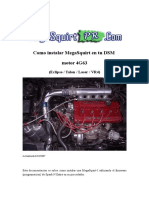 Como Instalar MegaSquirt en Tu DSM 4g63