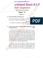 S.I Police Paper - II telugu 2012.pdf