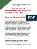 A herança de 68 - Jose de Souza Martins.docx