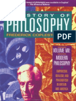 F Copleston - History of Philosophy VIII Modern Philosophy Empiricism Idealism and Pragmatism