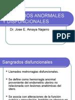 Sangrados Anormales y Disfuncionales