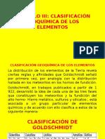 CAPITULO III clasificación geoquimica de los elementosff.pptx