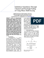 Digital Modulation Simulation Through AWGN Channel and Rayleigh Fading Channel Using Phase Shift Keying