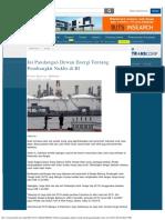 Ini Pandangan Dewan Energi Tentang Pembangkit Nuklir Di Indonesia