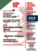 Flyer Zamna Rojo
