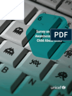 Survey of Parental Awareness of Risks of Online Child Abuse