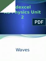 Edexcel as Physics Unit 2 Revision Powerpoint