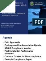 FAA ADS-B Compliance and Testing