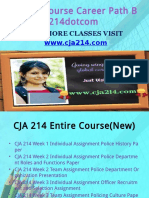 CJA 214 Course Career Path Begins Cja214dotcom