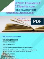 MTH 213 GENIUS Education Expert-mth213genius.com