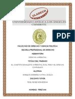 Constitucionalismo Ambiental en El Peru y El Derecho Comparado