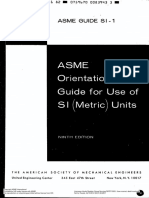 Asme Guide Si - 1982