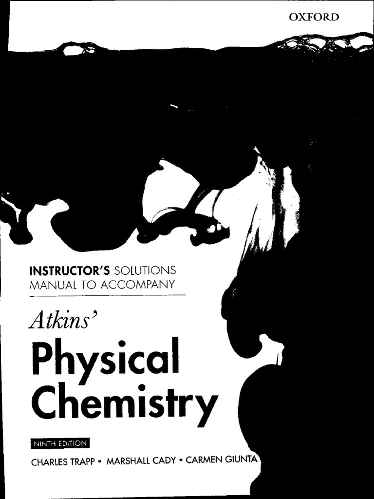 203917189 peter atkins physical chemistry solutions 9th edition pdf rh scribd com atkins solution manual 8th edition atkinson solutions manual pdf