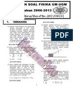 Kumpulan Soal Um Ugm PDF