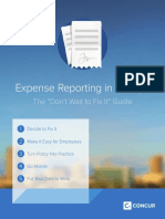 Expense Reporting in Five Steps 1
