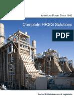 CMI Energy HRSG Brochure