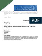 Major Food and Beverage Trade Shows in Hong Kong 2016  _Hong Kong_Hong Kong_3-1-2016.pdf