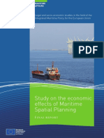 Economic Effects Maritime Spatial Planning En