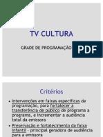 Tv Cultura - Grade 2008