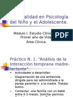Especialidad en Psicología Del Niño y El Adolescente